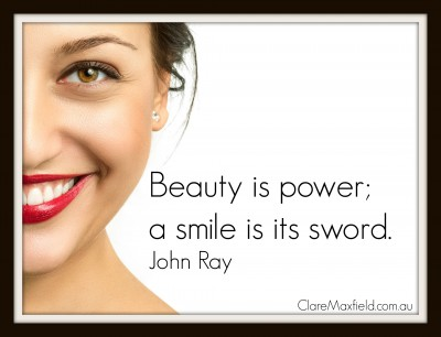 beauty is power