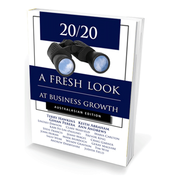 binoculars looking into business success book