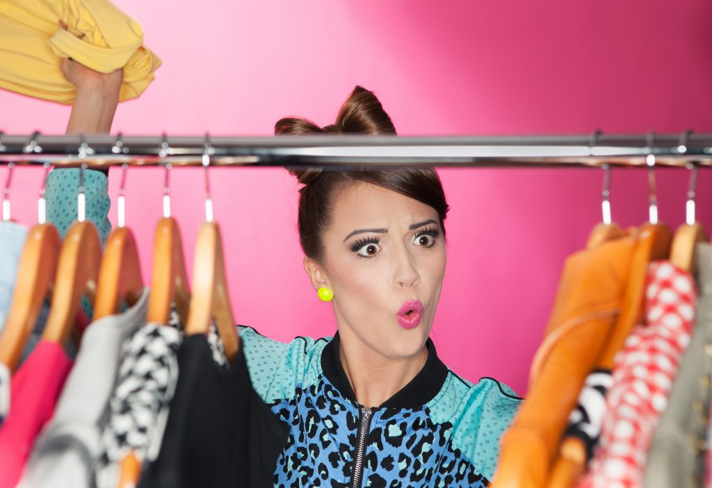 Got a wardrobe full of clothes and nothing to wear?