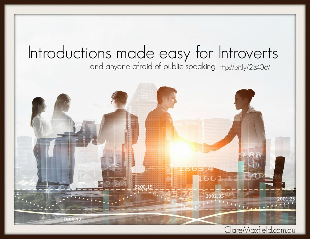 How to Introduce yourself for Introverts