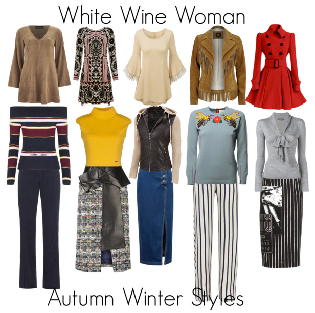 How to Dress the White Wine (pear shaped) Woman for Autumn Winter