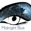 Midnight Blue eyeshadow