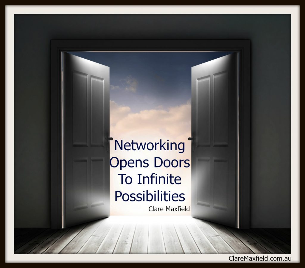 Networking Opens Doors To Infinite Possibilities
