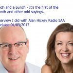 Radio interview with Alan Hickey 5AA
