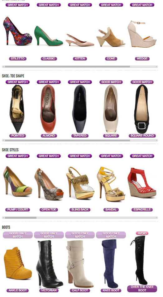 discover your own personal female style portfolio online -shoes