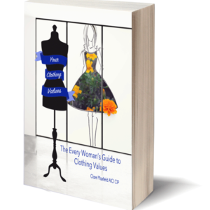 Every Woman's Clothing Values Workbook, clothing values, clothing values guide